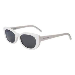 white cat eye saint laurent sunglasses, xeyes sunglass shop, buy saint laurent sunglasses online