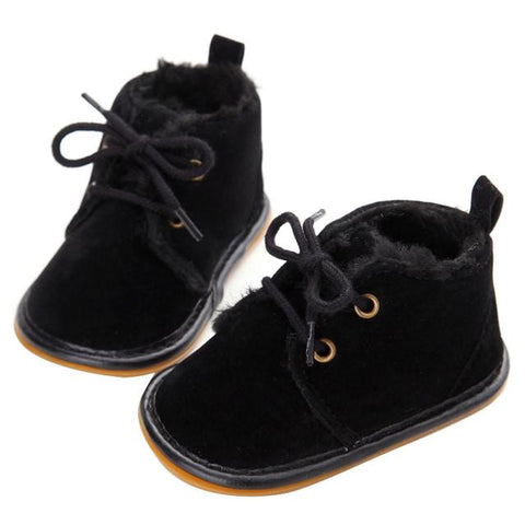 Baby shoes girls  Toddler Infant Snow Boots Shoes Rubber Sole Prewalker Crib Shoes Casaul