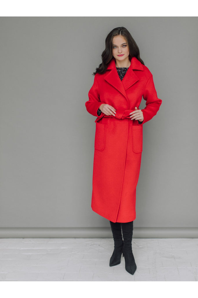 Merino wool long coat - Outerwear - Aylinstories - SELFIE STORE BARCELONA S.C.P.