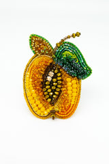 Brooch Apricot - Jewelry - LESYANEBO - SELFIE STORE BARCELONA S.C.P.