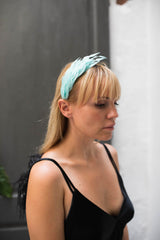 Feather-embellished headband - Hair accessories - Egor Khoroshenkov - SELFIE STORE BARCELONA S.C.P.