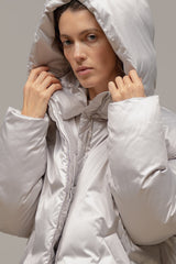 Satin medium down jacket - Outerwear - FLUGG - SELFIE STORE BARCELONA S.C.P.