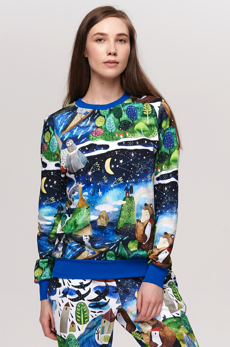 Sweatshirt Under the Star fall