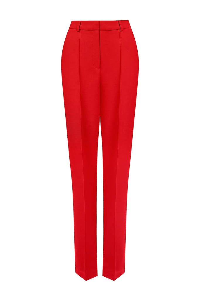 Classic high-waisted crepe trousers - SELFIE STORE BARCELONA, SL