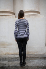 Embellished striped cotton-blend shirt - Tops - Aka Nanita - SELFIE STORE BARCELONA S.C.P.