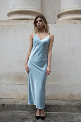 Reversible silk slip dress - Dresses - LESYANEBO - SELFIE STORE BARCELONA S.C.P.