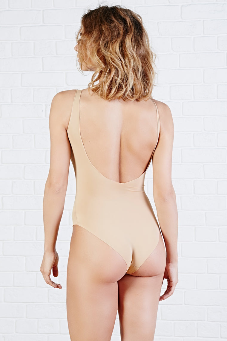 "Nude Seamless bodysuit ""SOUTH DAKOTA"" - SELFIE STORE BARCELONA, SL"