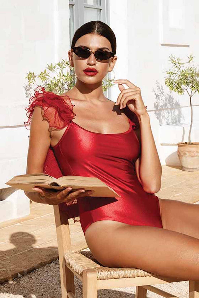 Swimsuit Amalfi Luxe Red