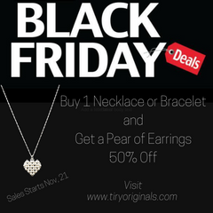 Black Friday Deals with Tiry Originals Beaded Jewelry