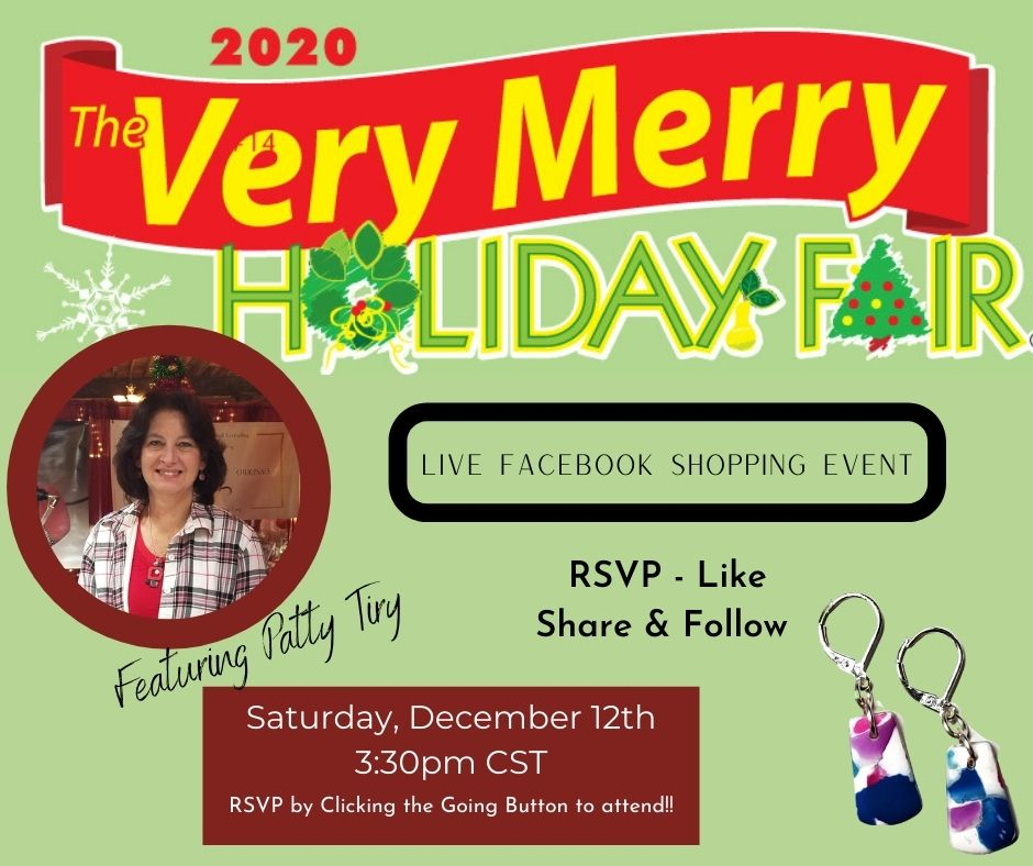 """The Very Merry """"Online"""" Holiday Fair with Patty Tiry"""