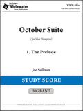 October Suite: 1. The Prelude - Joe Sullivan (Study Score)
