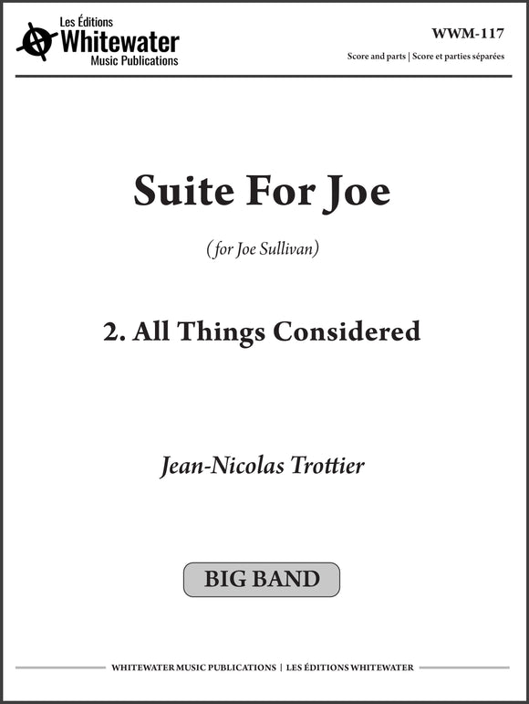 Suite For Joe: 2. All Things Considered - Jean-Nicolas Trottier
