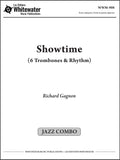Showtime (6 Trombones & Rhythm) - Richard Gagnon
