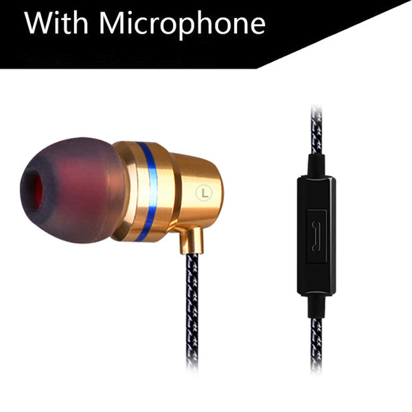High Quality Special Edition In-Ear Earphone with Clear Bass & Microphone