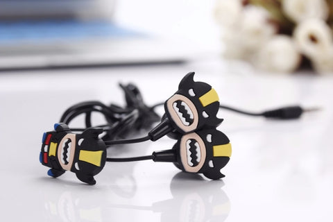 Batman in-ear Earphone Headset - FREE SHIPPING