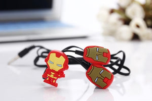 Iron Man in-ear Earphone Headset - FREE SHIPPING