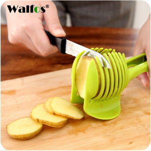 Easy Slicing Fruits & Vegetable Tools/Tongs - Tomato Lemon Handheld Round Fruit Tongs - FREE SHIPPING