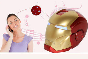 Iron Man Helmet Bluetooth Wireless Bluetooth Speaker - FREE SHIPPING
