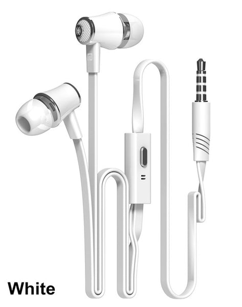 Super Bass In-ear Headset with Mic for iPhone, Android etc. 3.5mm