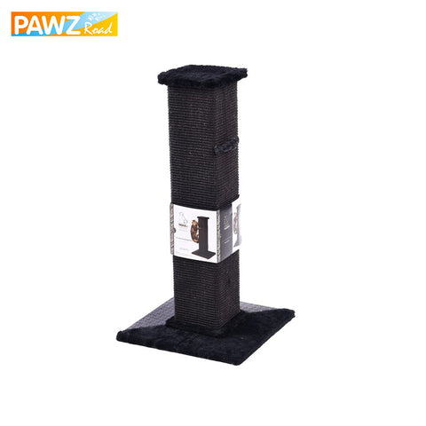 Fast Shipping H82cm Cat Scratching Post Eco-friendly Non-toxic Soft Plush Multi-functionable Sisal Cat Furniture Pet Supplies