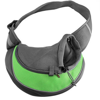 Small Pet Sling Bag New Breathable Shoulder Carrier Bag Pouch Comfort Mesh Travel Tote for Puppy Dog Cat Backpack Carriers