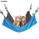 PINK Kitten Cat Hammock Winter Waterproof blue Hanging Soft Bed Small Animal Chair House Kitty Pet Swing hamac chat Pet Supplies