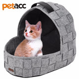 Petacc Multi-functional Pet Cave with Removable Cushion and Anti-slip Bottom for Dog Cats Pet Supplie Cat Products