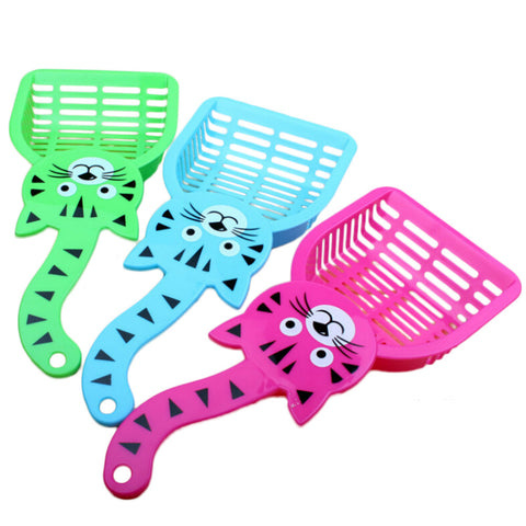 Cat Dog Pet Poop Scoop Sieve Litter Animals Wastes Cleaning Tool Plastic Pet supplies