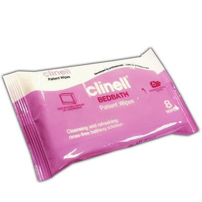 CLINELL BEDBATH PATIENT WIPES