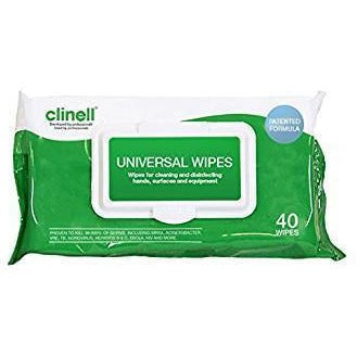 CLINELL UNIVERSAL WIPES X 40 UNIDADES