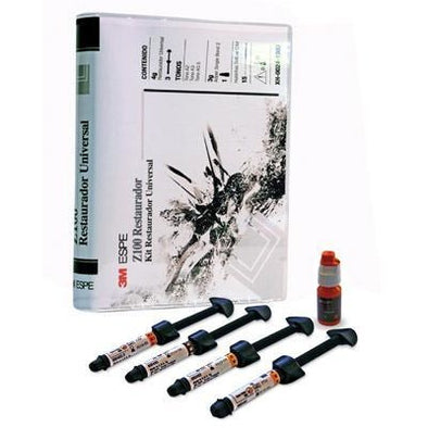 FILTEK Z100 KIT INTRODUCTORIO KIT 4 A2 A3 B2 A3 5 ADPER SINGLE BOND 3 GR ETCHANT 5ML