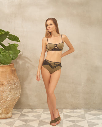 New! PANAREA COUTURE - DESIREE OLIVE