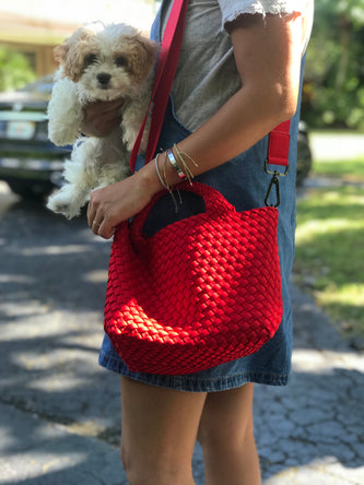 Oliviaumma Exclusive Naghedi Mini Red