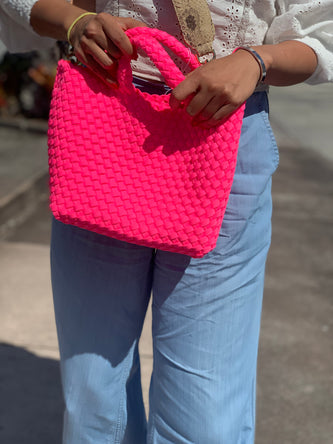 Oliviaumma exclusive 2019SS neon Pink limited