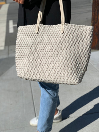 Jetset medium tote Light Grey