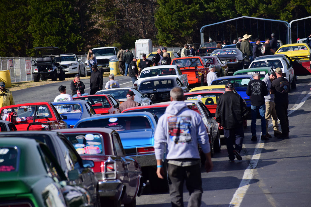 Loose Rocker Fall Footbrake Frenzy at Piedmont Dragway - A Thanksgiving Tradition