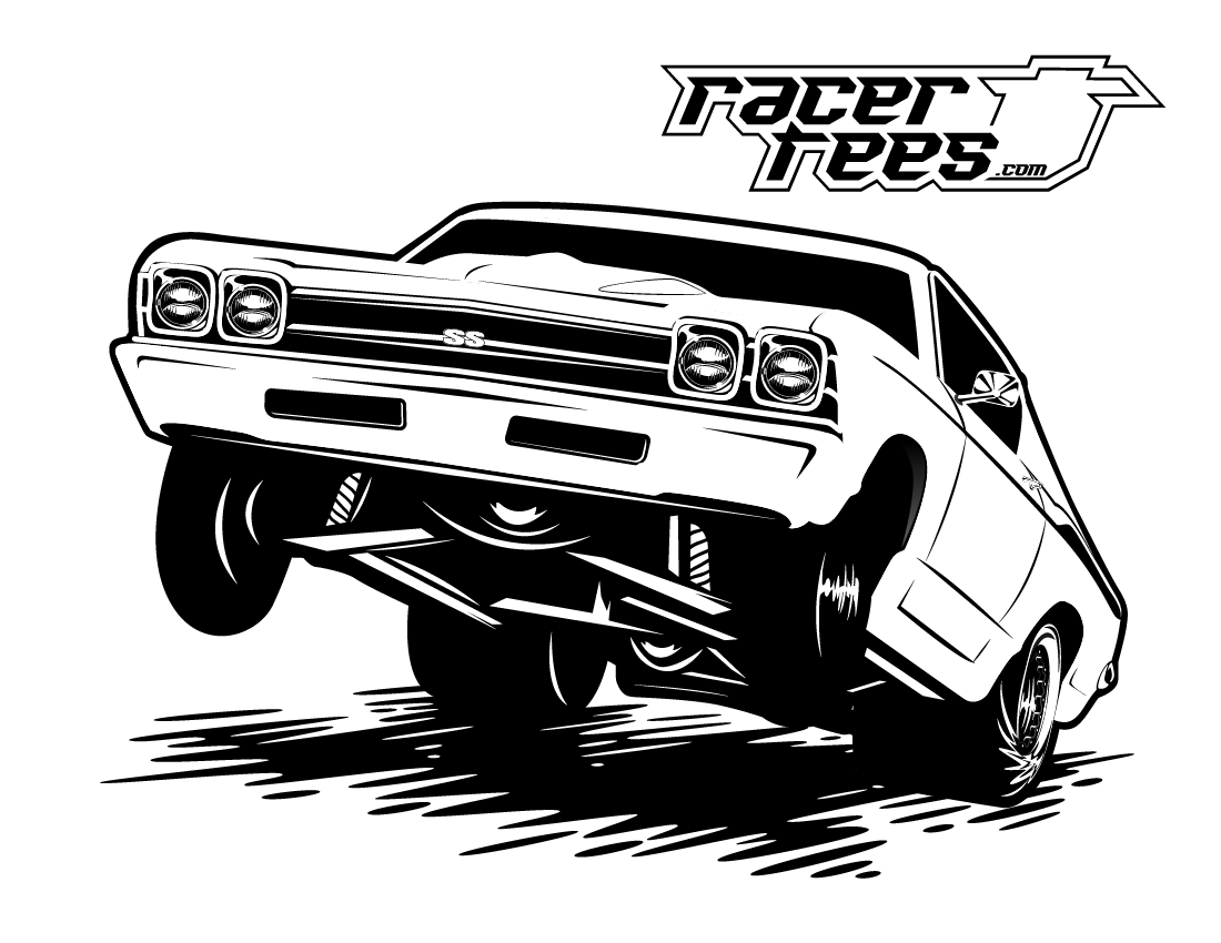 Download FREE Drag Racing Coloring Book Pages - Racer Tees