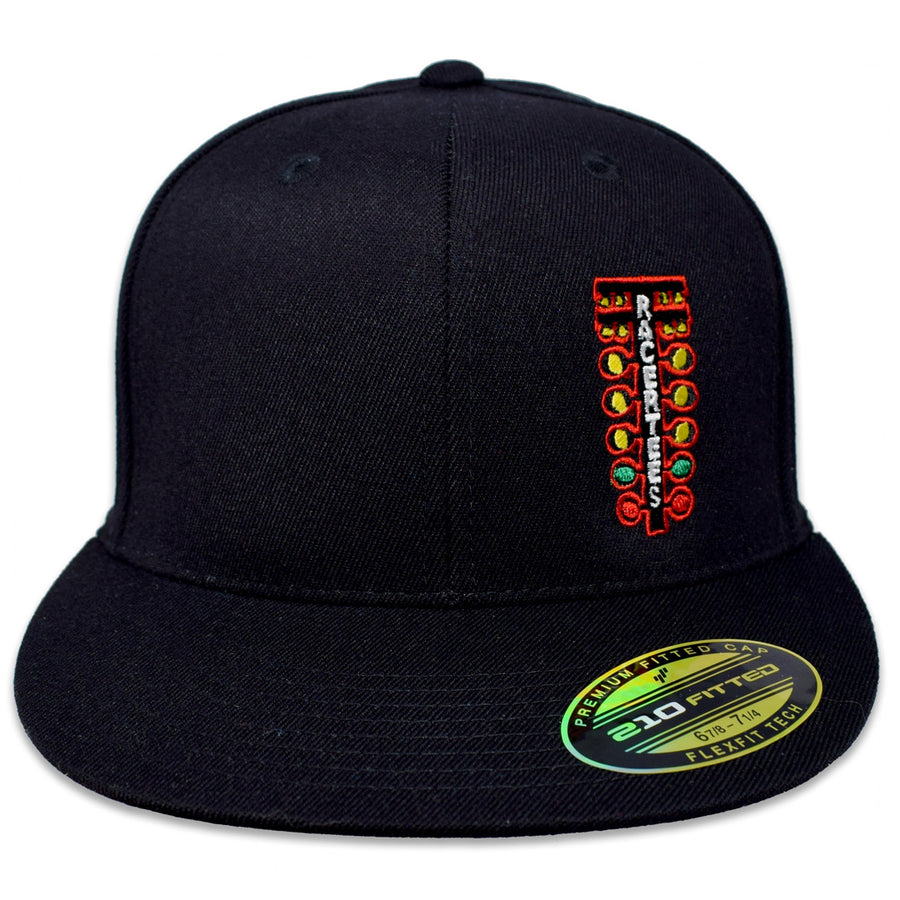 Drag Racing Tree Flatbill Hat