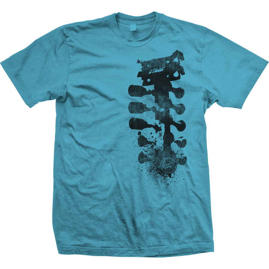 Grunge Tree T-Shirt | Aquatic Blue