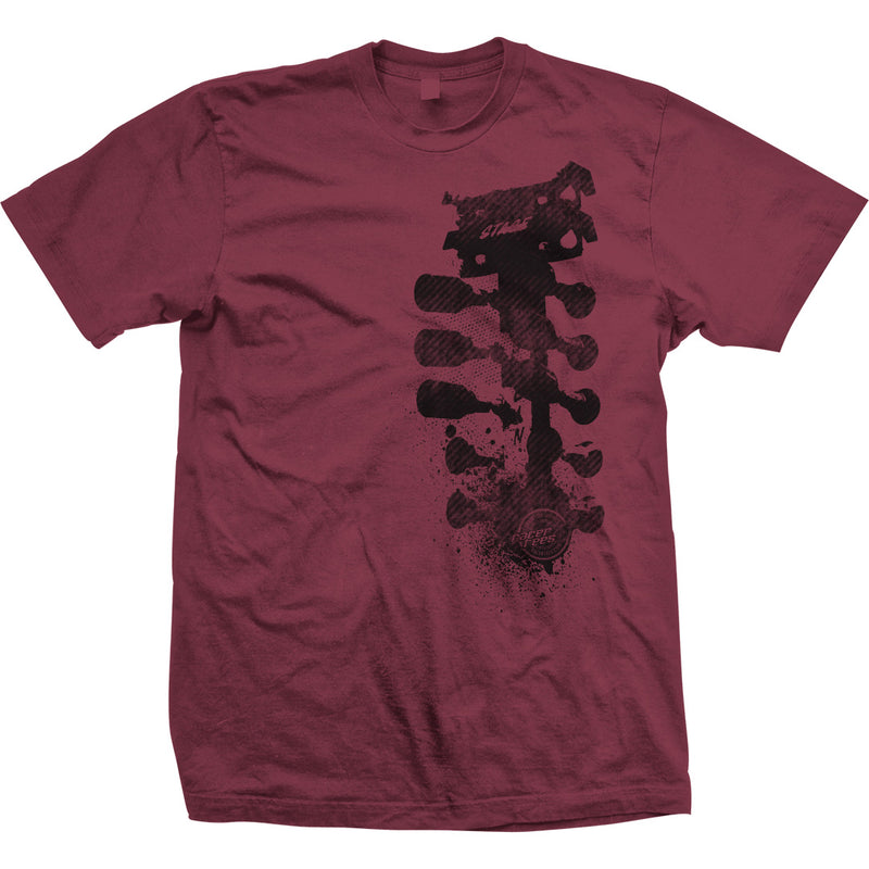 Grunge Tree T-Shirt | Cardinal Red