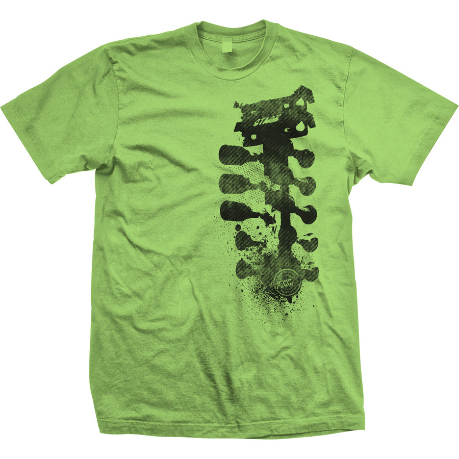 Grunge Tree T-Shirt | Lime Green