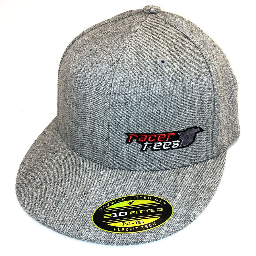 Racer Tees Flatbill Hat | Heather Grey