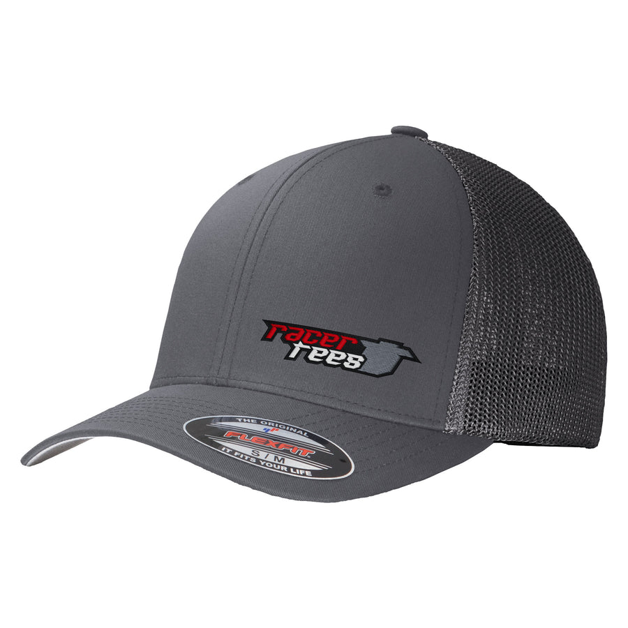 Racer Tees Flexfit Trucker Hat | Graphite