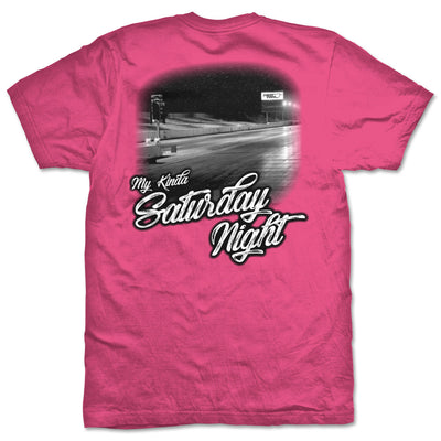 My Kinda Saturday Night T-Shirt | Pink