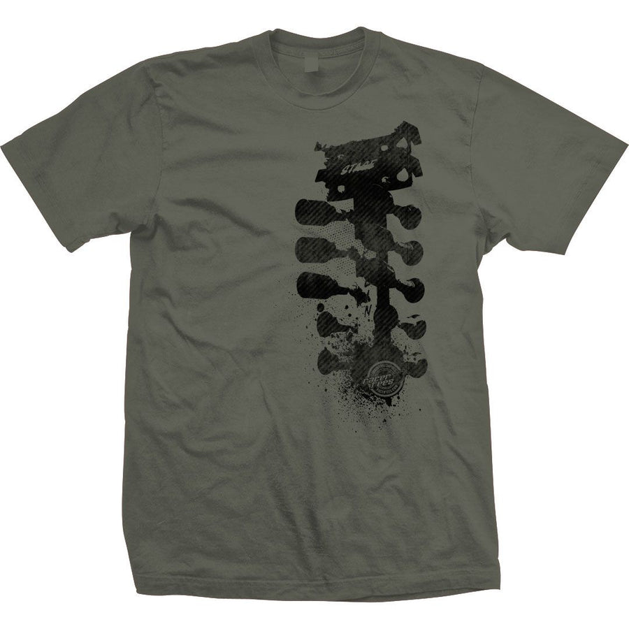 Grunge Tree T-Shirt | Military Green