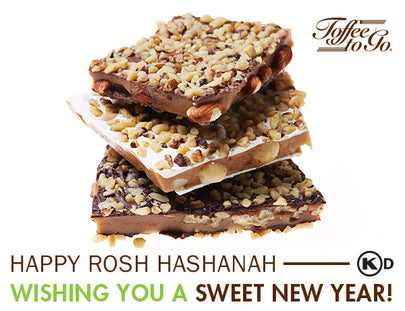 Kosher Toffee Candy: The Perfect Rosh Hashanah Gift