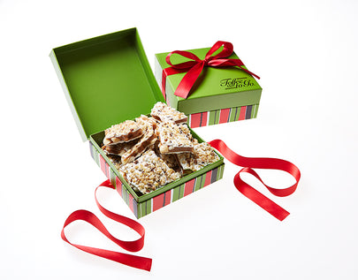 We're dreaming of a White Chocolate Macadamia Nut Toffee Christmas!