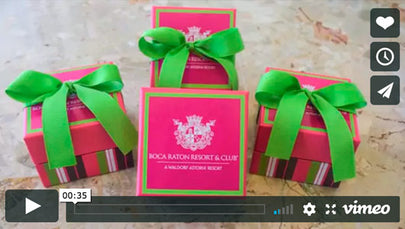 Behind the scenes: Customized Gift Boxes for Boca Raton Resort & Club