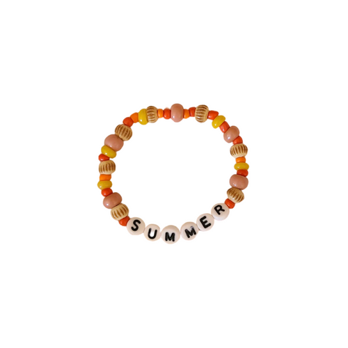 "DIY - ""Summer"" beaded bracelet kit"
