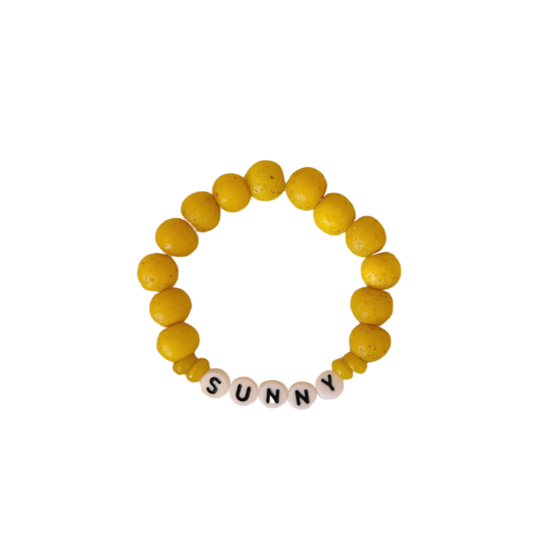 "DIY - ""Sunny"" beaded bracelet kit"